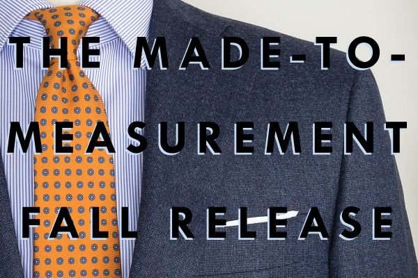 the made-to-measurement fall release
